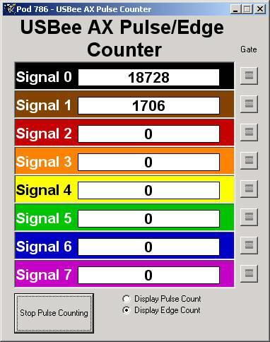 usbee zx pulse counter