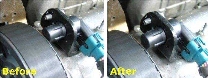 re-alinging  CMP sensor