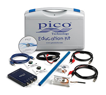 pico educational oscilloscope kit