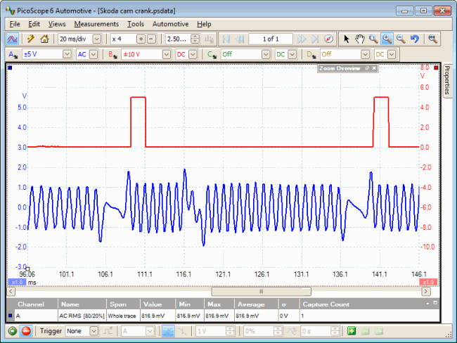 Pico Automotive Everyday Diagnostics Skoda Crankshaft